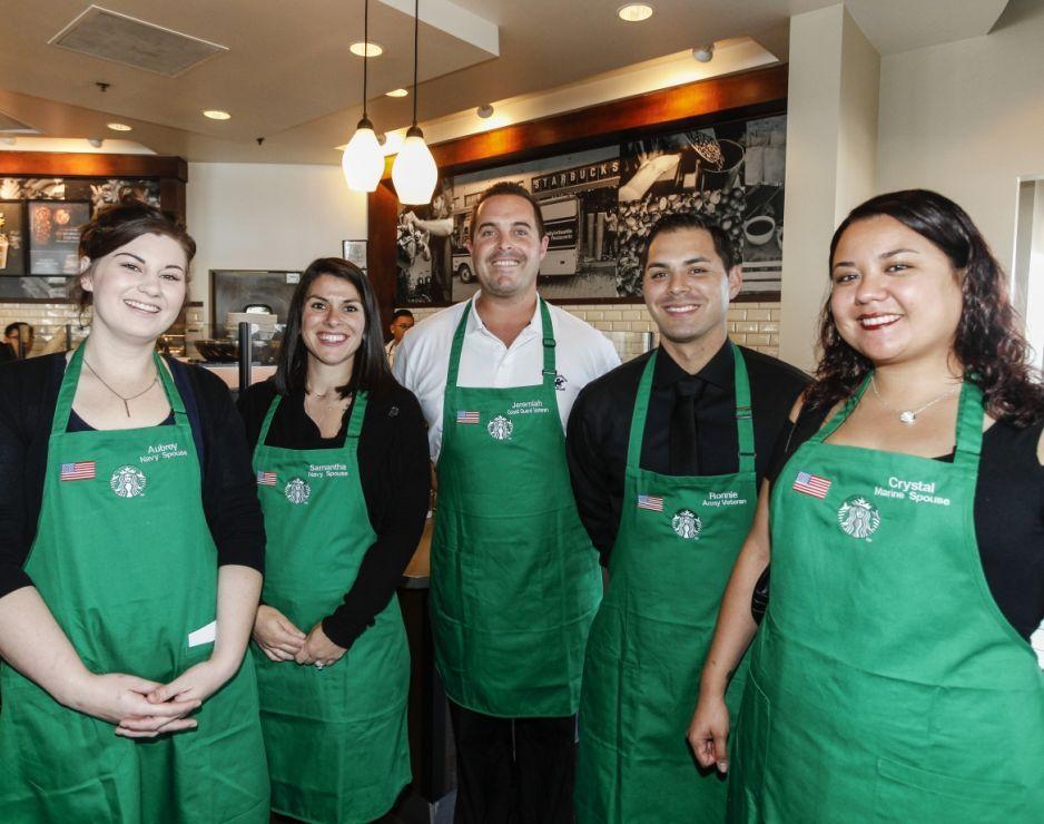 Starbucks militares